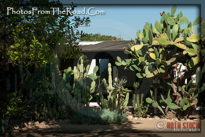 Atmosphere of Olvera Street - Avila Adobe