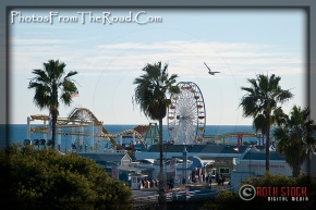 Santa Monica Pier and Pacific Park