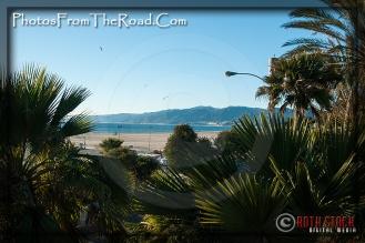 Santa Monica Pier looking towards Malibu