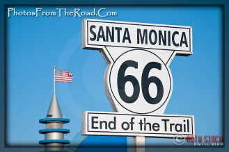 Santa Monica - Route 66 - End of the Trail
