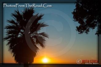Pacific Ocean Sunset in Santa Monica, California