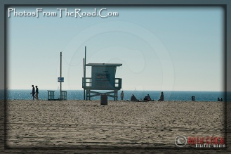 Lifeguard Shack at the Venice Beach Boardwalk