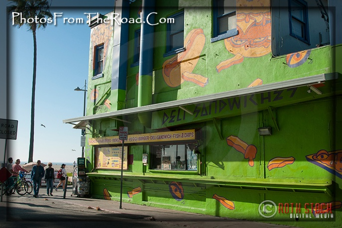 Colorful Murals at the Venice Beach Boardwalk