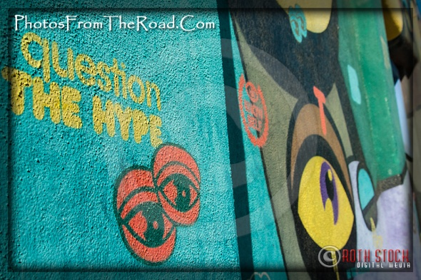 Colorful Murals at the Venice Beach Boardwalk