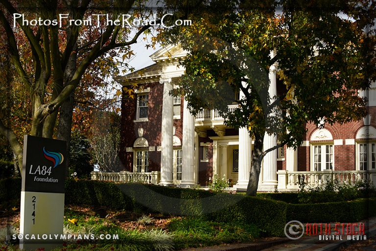 The Historic Eugene W. Britt House is home to the LA84 Foundation